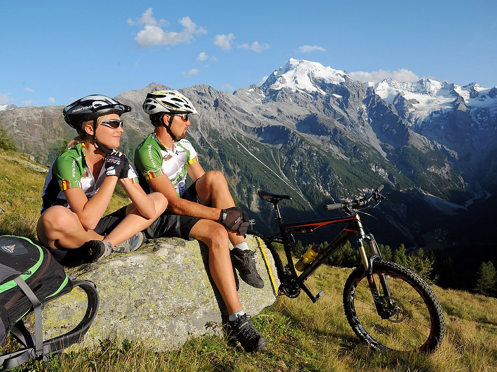 Mountain bike Trafoi