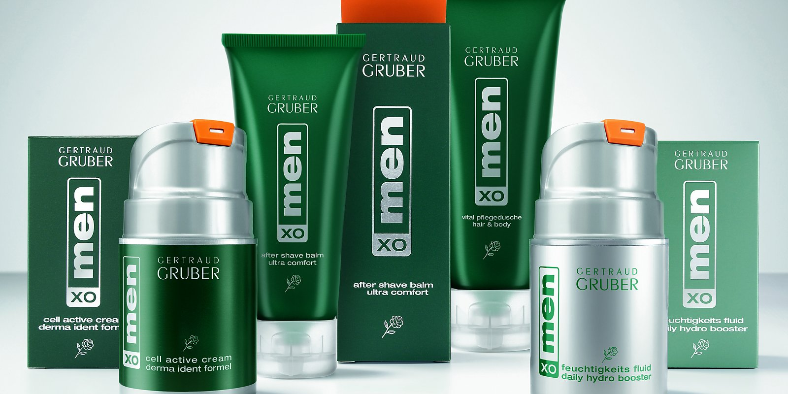 Gertraud Gruber menXO products